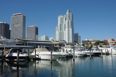 marina: Miami Bayside Marina, Florida