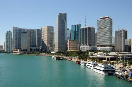 daytime: Downtown Miami, Florida USA