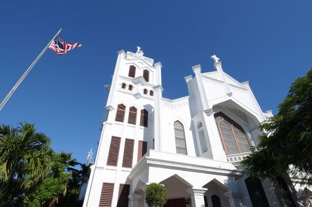 episcopal: St. Pauls Episcopal Church, Key West, Florida USA Stock Photo