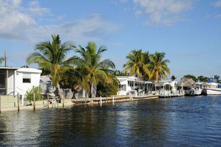 waterside: Houses Waterside at Key Largo, Florida