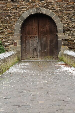Gate in a Medieval Castle photo