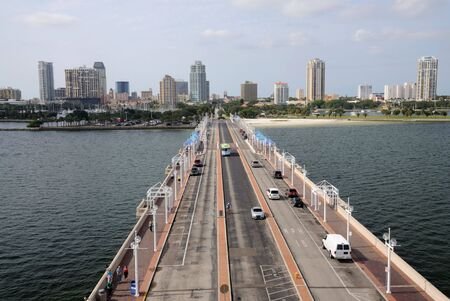 st  pete: St. Petersburg from the Pier, Florida USA