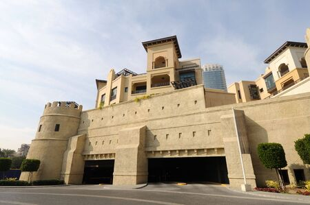 Arabe Architecture moderne de Style � Dubai, United Arab Emirates Banque d'images - 6347195