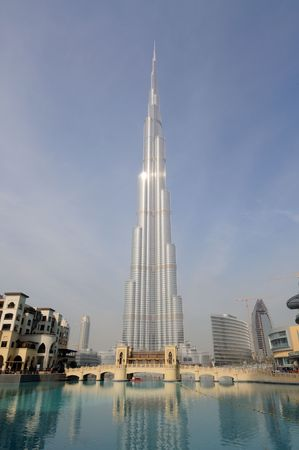 Highest Skyscraper in the World - Burj Dubai (Burj Khalifa), Dubai United Arab Emirates Stock Photo - 6347217