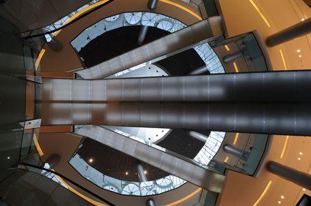 mall of the emirates: Modern Architecture in the Dubai Mall, United Arab Emirates