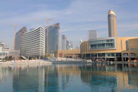 mall of the emirates: Dubai, January 22 2010: Dubai Mall, worlds largest shopping mall, United Arab Emirates