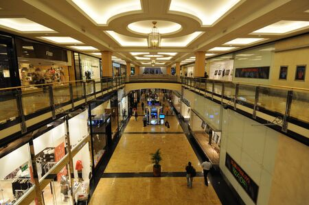 Dubai, January 22 2010: Mall of the Emirates, Dubai United Arab Emirates Editorial