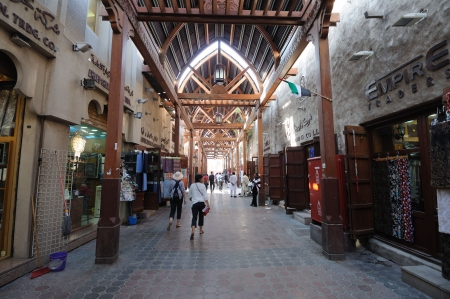 souq: Old Souq (Market) in Dubai Deira, United Arab Emirates. Photo taken at Janaury 26, 2010