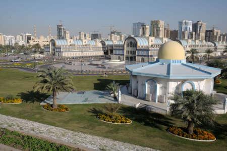 souq: Central Souq (market) in Sharjah City, United Arab Emirates