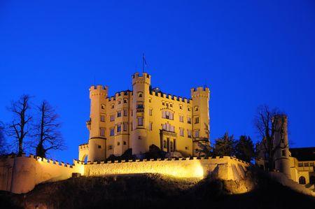 schwangau: Castle Hohenschwangau in Bavaria, Germany