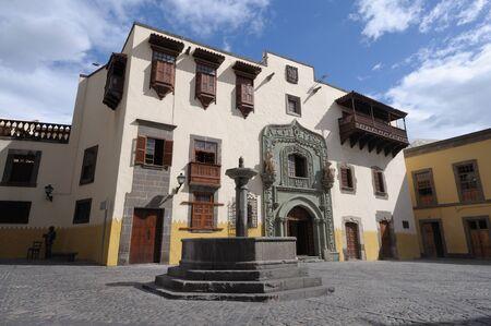 gran canaria: Huis van Columbus in Las Palmas de Gran Canaria