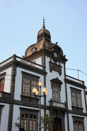 grand canary: Historic building in Arucas, Grand Canary Spain