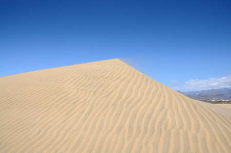 grand canary: Sand Dune in Maspalomas, Grand Canary Spain