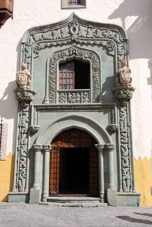 House of Columbus in Las Palmas de Gran Canaria, Spain Stock Photo - 6994063