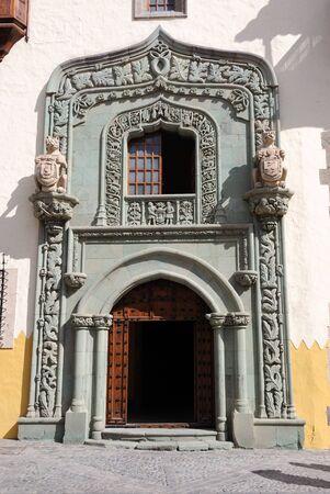 gran canaria: Huis van Columbus in Las Palmas de Gran Canaria, Spanje