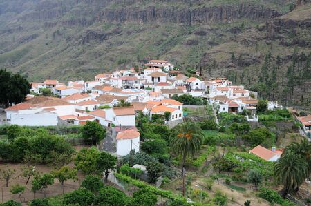 grand canary: Village in the mountains of Grand Canary Island, Spain