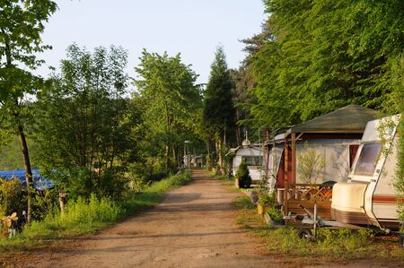 camping site: Camping site in Germany
