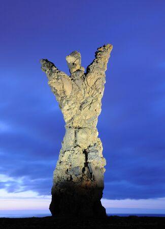 Statue El Atlante in Las Palmas de Gran Canaria, Spain Stock Photo - 7154641