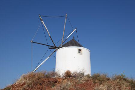 traditional windmill: Traditional windmill in the Algarve, Portugal