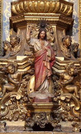 Jesus Christus Statue in the Altar