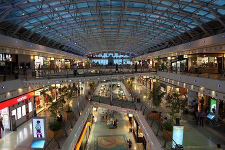 Vasco da Gama shopping center in Lisbon, Portugal. Photo taken at 28 June 2010 Stock Photo - 7571800