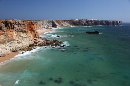 Algarve coast in Portugal photo