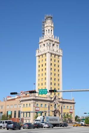 xing: Miami Freedom Tower, Florida USA. Photo taken at 13th of November 2009 Editorial