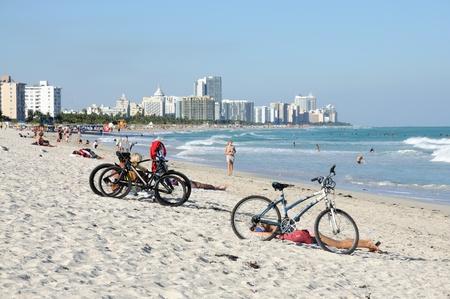Miami South Beach, Florida USA. Photo taken at 13th of November 2009