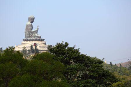 Giant Buddha Statue in Tian Tan. Hong Kong, China Stock Photo - 8548644