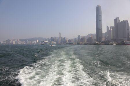 Leaving Hong Kong Stock Photo - 8546643