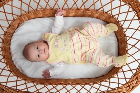 bassinet: Baby in bassinet
