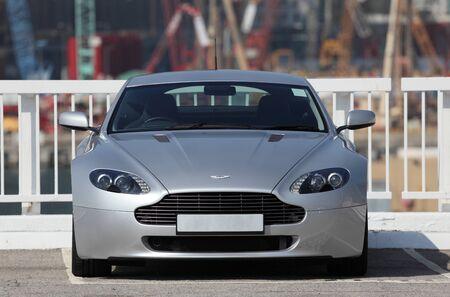 sportscar: Super Sportscar Aston Martin Vantage. Photo taken at 28th of November 2010 in Hong Kong