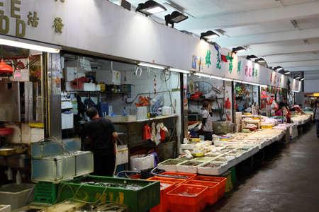 Fish market in Hong Kong. Photo taken at 5th of December 2010 Stock Photo - 8636168