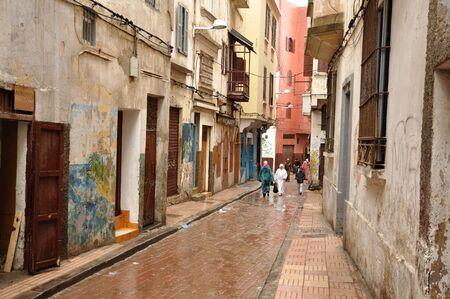 medina: Narrow street in the Medina of Casablanca, Morocco. Photo taken at 17th of November 2008 Editorial