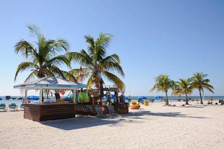 kiosk: Key West Beach, Florida Keys, USA. Photo taken at 20th of November 2009 Editorial