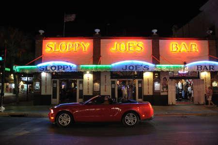 west usa: Sloppy Joes Bar in Key West, Florida Keys USA. Photo taken at 20th of November 2009