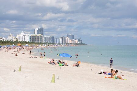 Miami South Beach, Florida USA. Photo taken at 25th of November 2009 Stock Photo - 8683700
