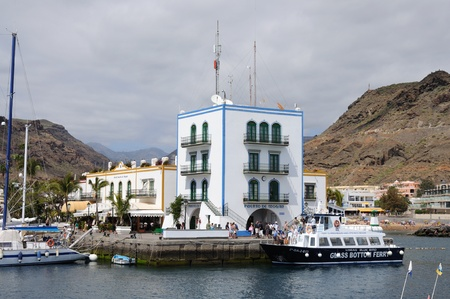 grand canary: Puerto de Mogan, Grand Canary Island, Spain. Photo taken at 17th of April 2010