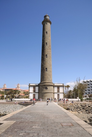 grand canary: Maspalomas Lighthouse, Grand Canary Island, Spain. Photo taken at 15th of April 2010 Editorial
