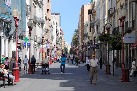 gran canaria: Calle Triana, Las Palmas de Gran Canaria, Spain. Photo taken at 25th of April 2010