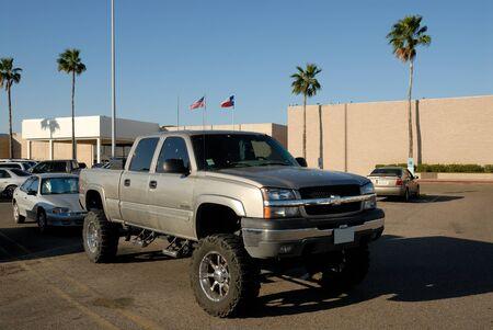 silverado: Chevrolet Pickup Truck in Corpus Christi, Texas USA. Photo taken at 22nd of November 2008 Editorial