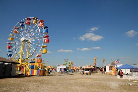 ferriswheel: Parco divertimenti Beeville, Texas Stati Uniti. Foto scattata al 19 novembre 2008