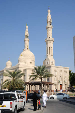 Jumeirah Mosque in Dubai, United Arab Emirates. Photo taken at 26th of January 2009 Stock Photo - 8728595