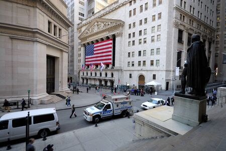 New York Stock Exchange. Photo taken at 16th of April 2008