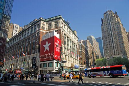 herald: Herald Square, Midtown Manhattan, New York City. Photo taken at 18th of April 2008