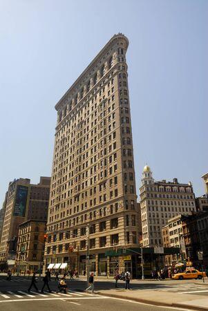 artdeco: El edificio de hierro de piso en la ciudad de Nueva York. Foto tomada en el 18 de abril de 2008 Editorial