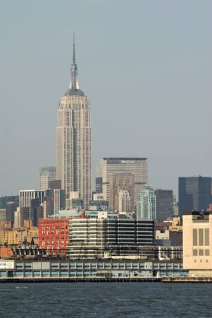 empire state building: Empire State Building, New York City. Photo taken at 22nd of April 2008