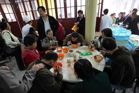 Restaurant in Shanghai, China. Photo taken at 20th of November 2010