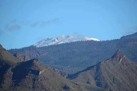 mountainscape: Mountains on Canary Island Tenerife, Spain