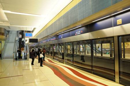 Union Station in Dubai, United Arab Emirates. Photo taken at 18th of January 2010